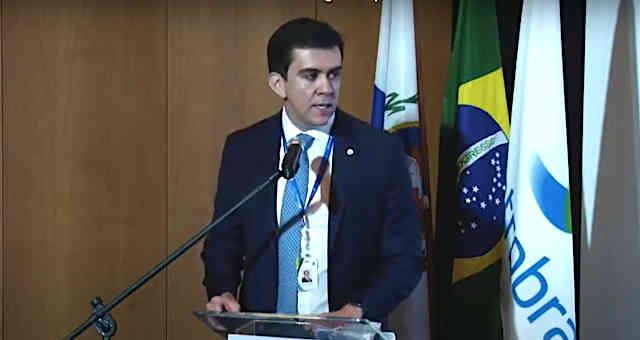 Rodrigo Limp toma posse como presidente da Eletrobras em 07 de maio de 2021