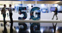 Exposição de tecnologia 5G Digital Day no Salão Negro do Congresso Nacional