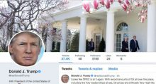 Twitter, Trump