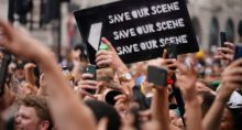 Protesto Londres