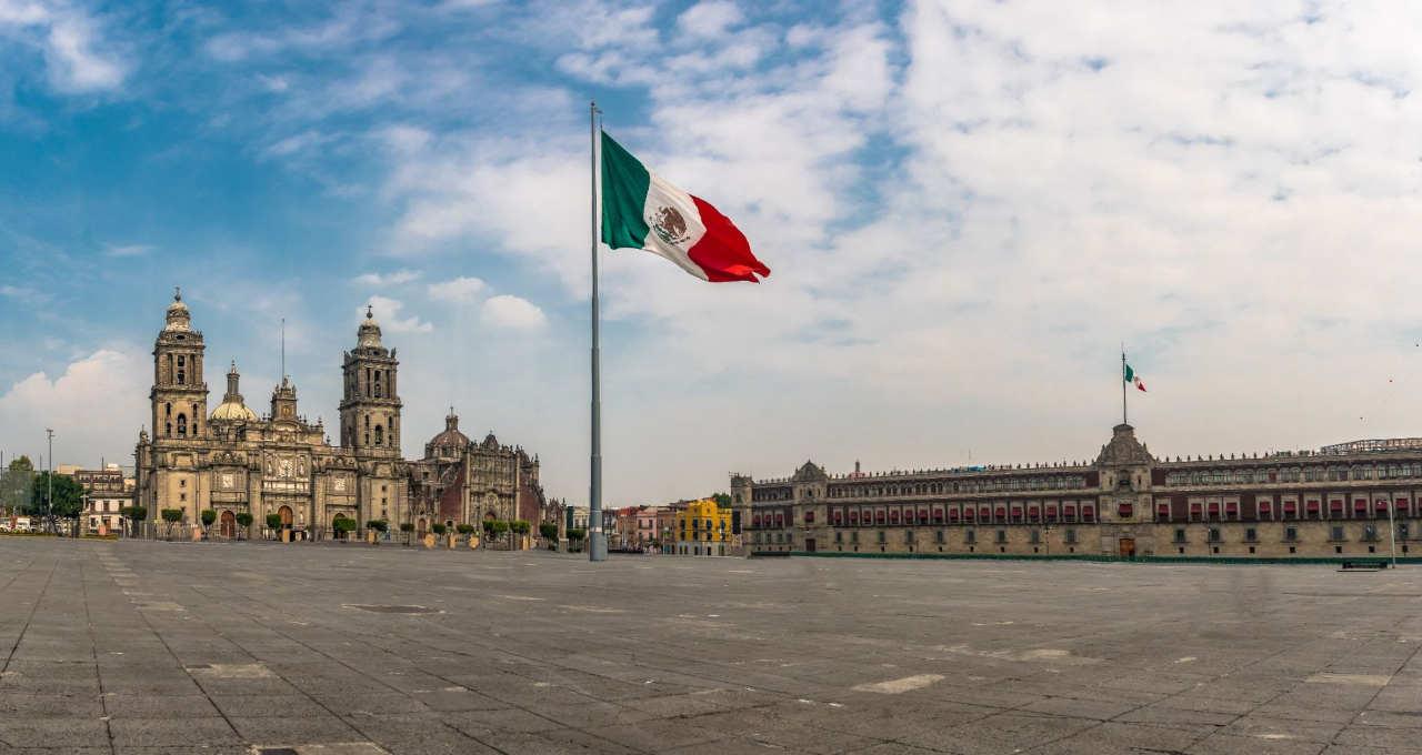 México Bandeira