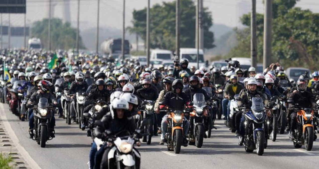 Jair Bolsonaro Motociclistas