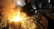 Produção de aço em Hefei, Anhu