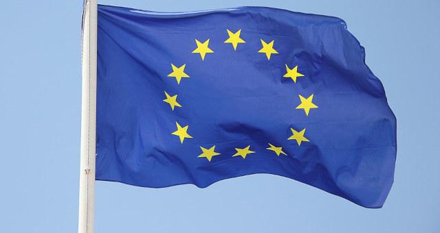 Bandeira União Europeia Europa