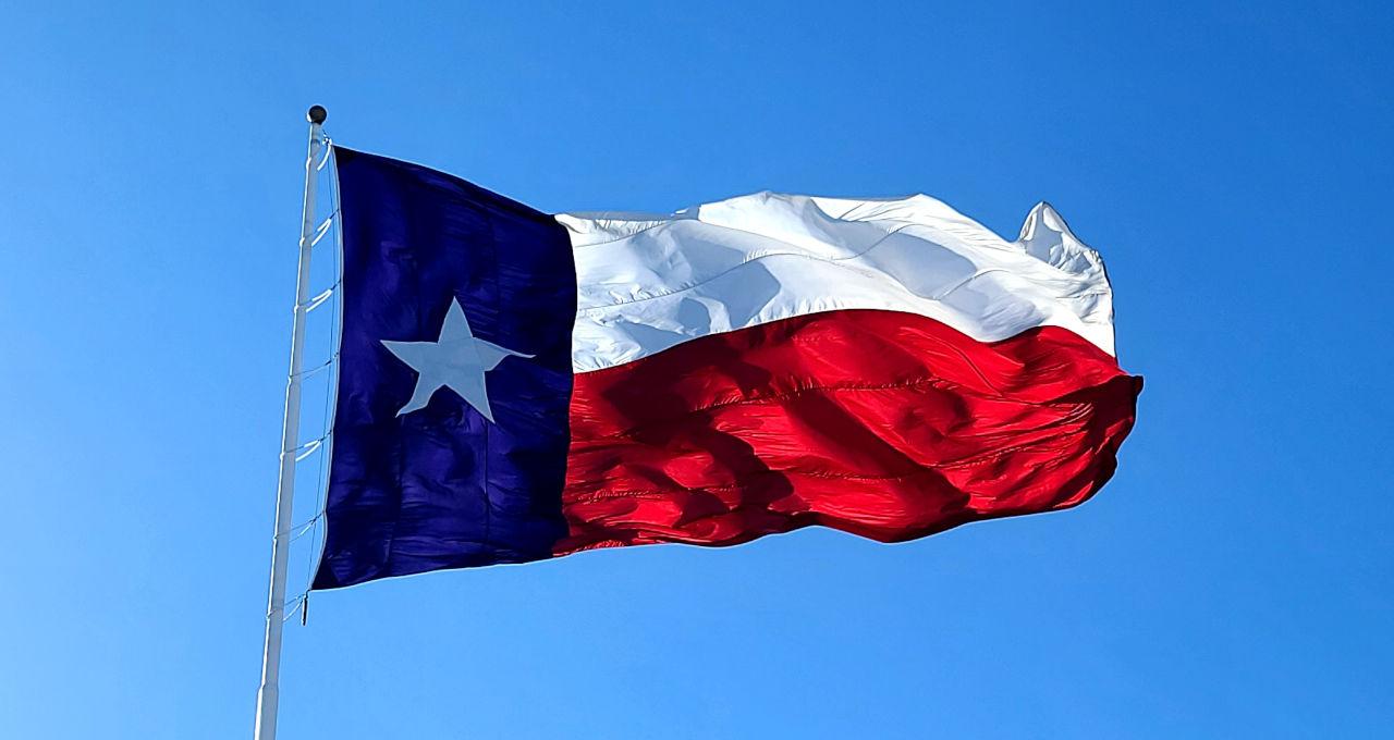 bandeira Texas EUA
