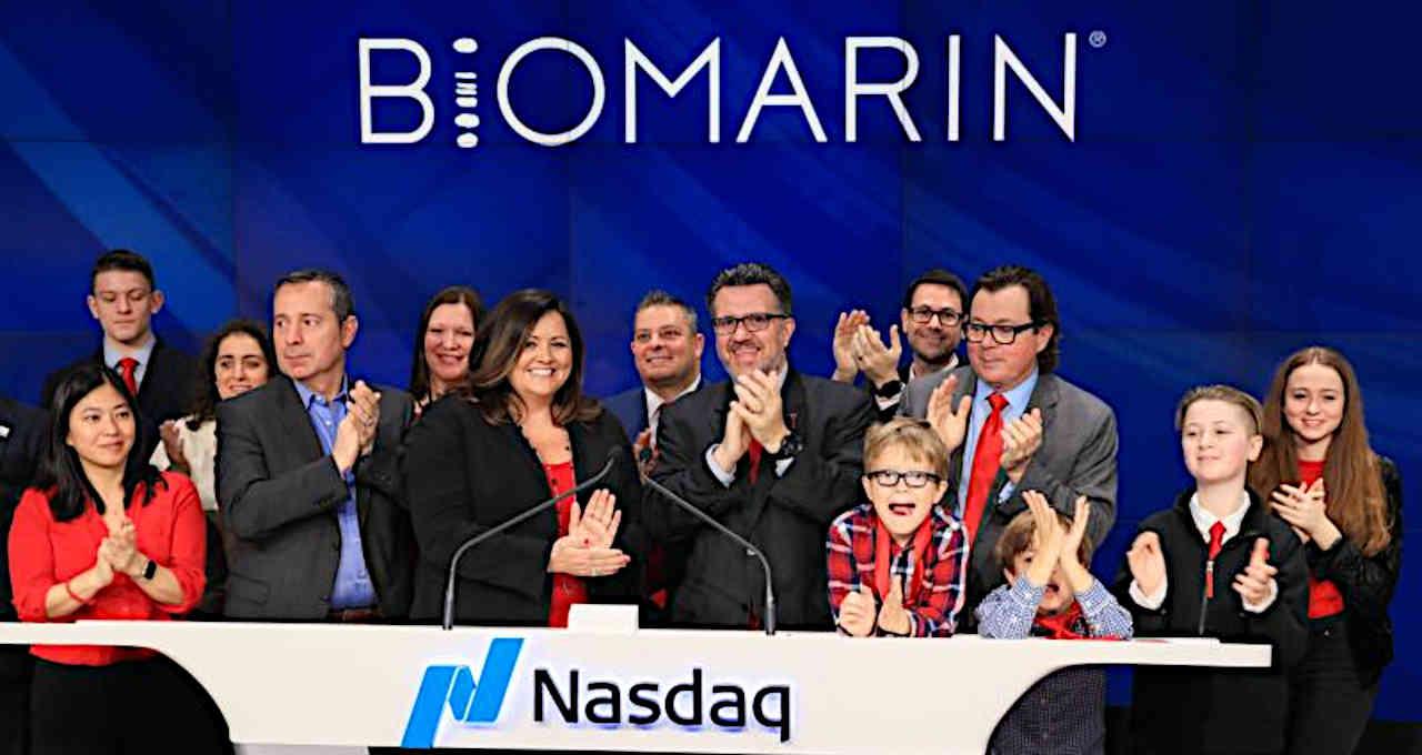 Biomarin estreia na Nasdaq