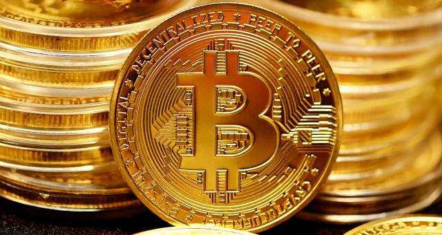 orange bitcoin