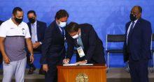 Bolsonaro e Pedro Guimaraes