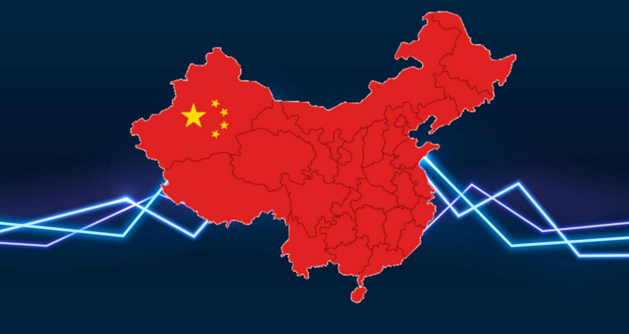 China mapa