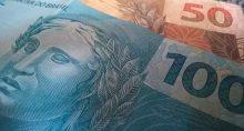 Dinheiro Moedas Câmbio Real