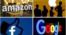 Empresas Facebook Amazon apple Google