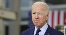 Presidente dos Estados Unidos, Joe Biden, em Cleveland, Ohio