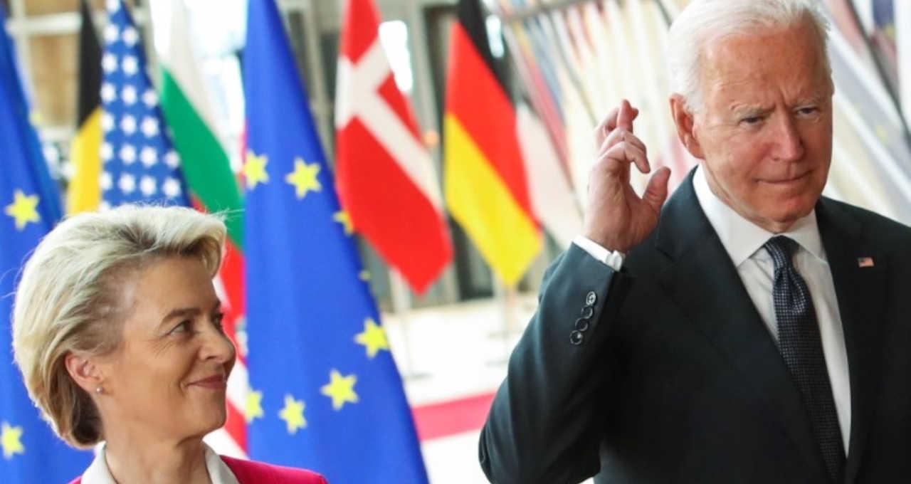 Joe Biden e Ursula von der Leyen