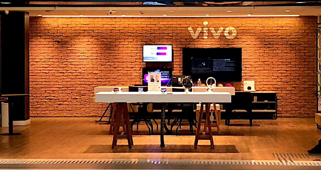 Loja da Vivo, telefonia, celulares, mobile, shopping, varejo, consumo