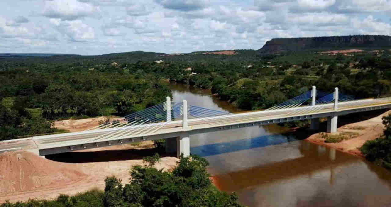Ponte do rio Parnaíba
