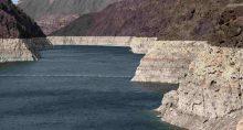 Reservatório da represa Hoover