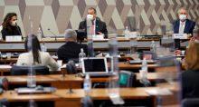 Reunião da CPI da Covid