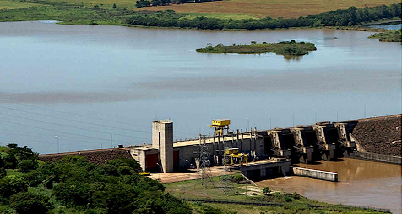 Usina hidrelétrica Canoas I, da Rio Paranapanema Energia