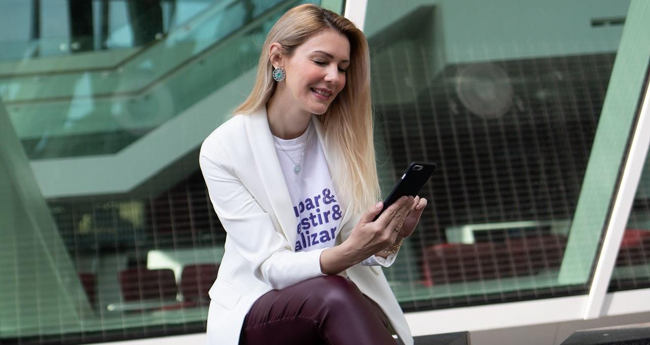 Aline Rezende, CEO da PouPay+