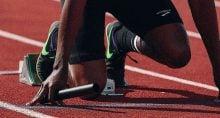 Corrida, largada, preparativo, corredor, investimentos, competição