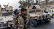 Comboio das Forças Especiais Afegãs