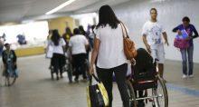 Deficiente cadeira de rodas