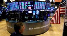Bolsa em Nova York EUA Wall Street