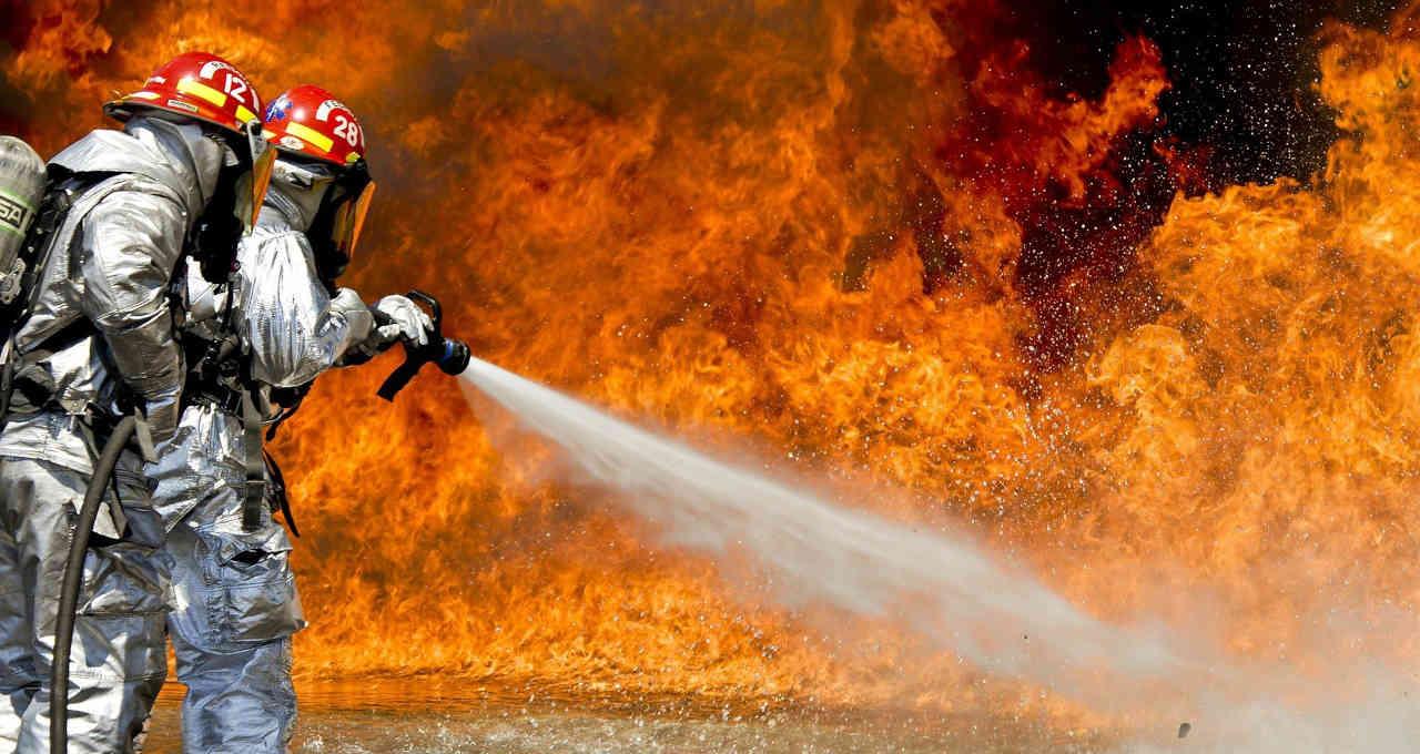 Incêndio fogo