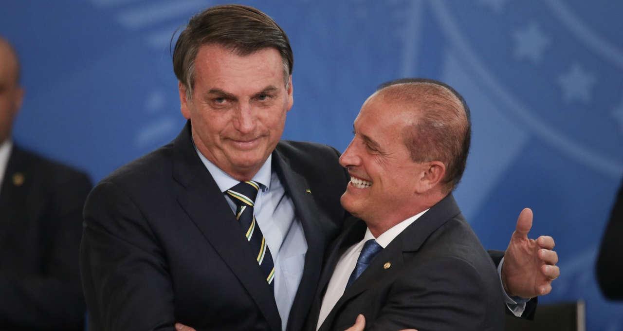 Jair Bolsonaro e Onyx