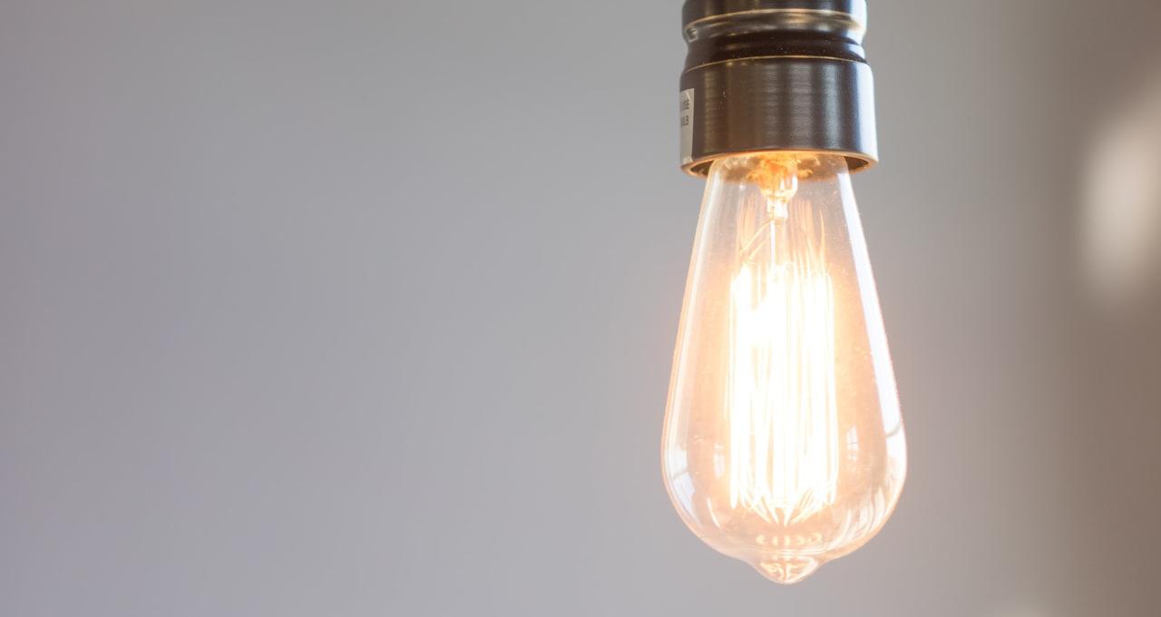Lâmpada Luz Energia Elétrica