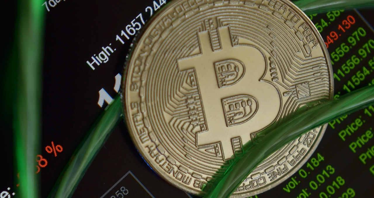 Bitcoin gráfico dados