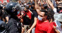 Protesto Tunísia