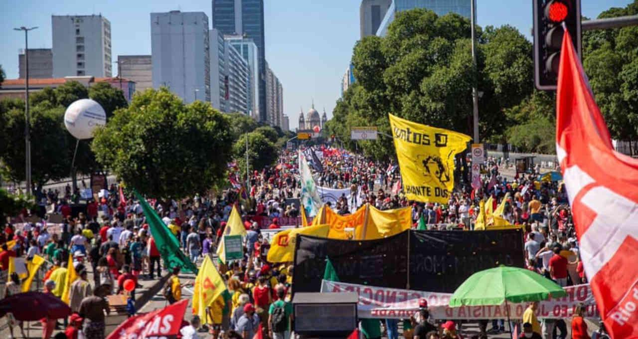 Protestos Manifestações