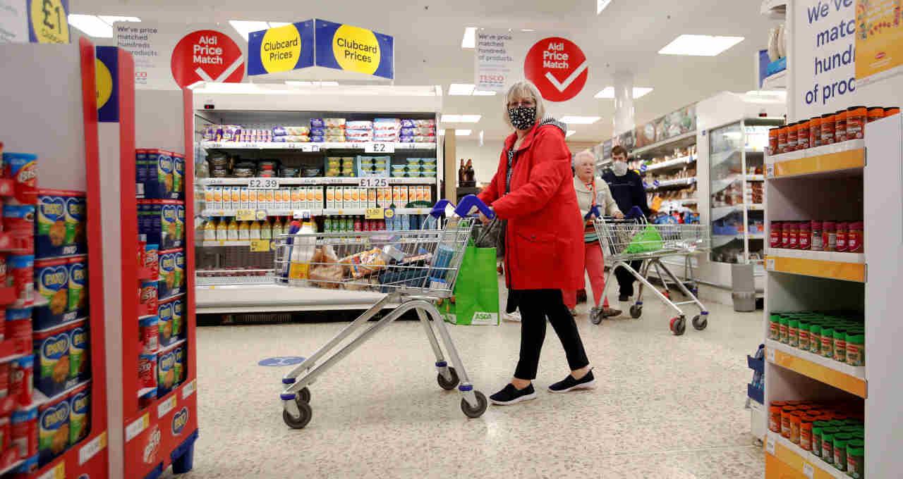 Reino Unido, Supermercado
