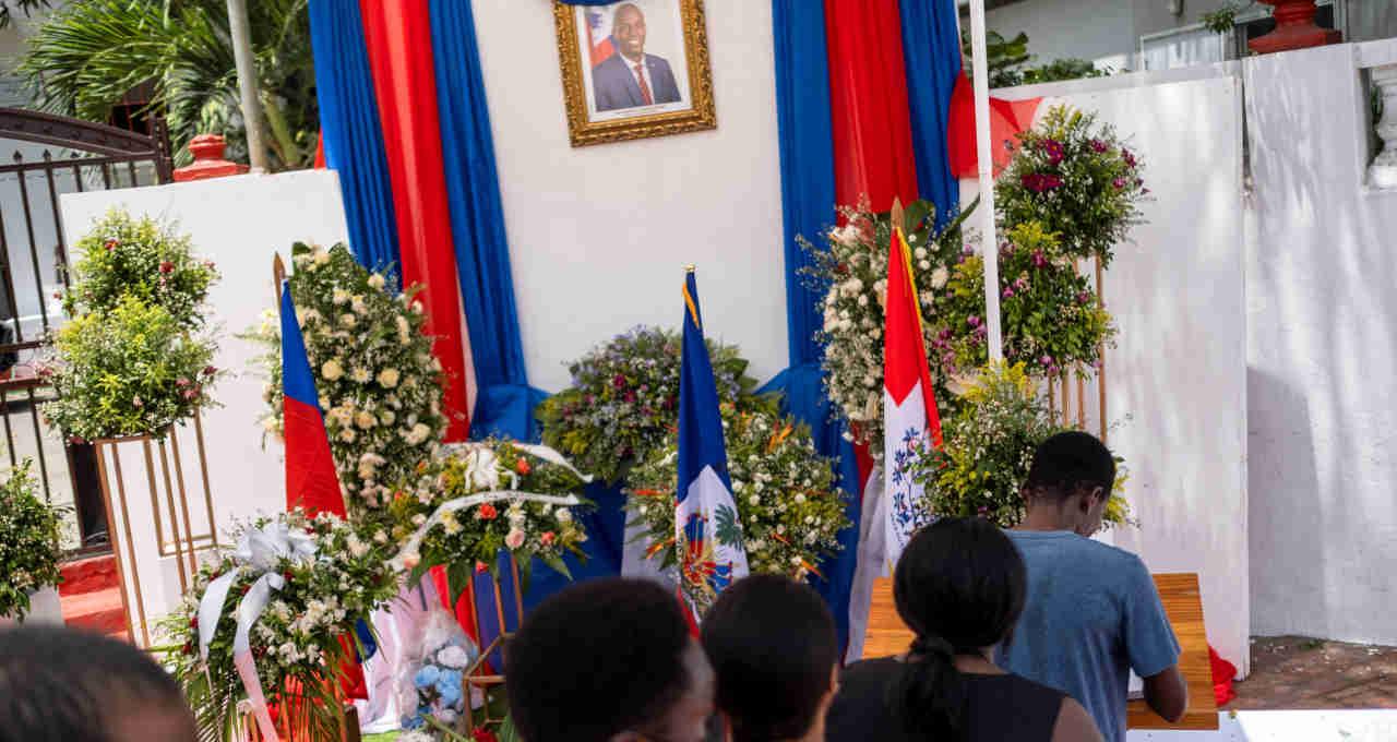 Velório presidente do Haiti Jovenel Moise