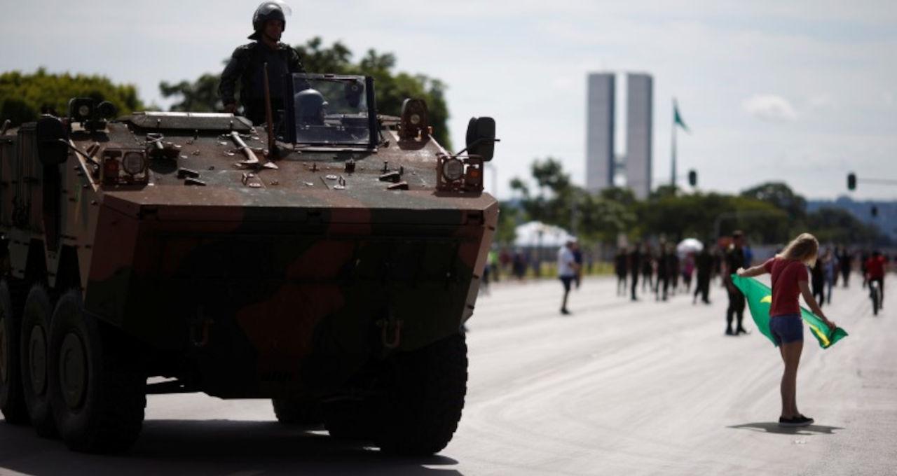 Exército Tanque Brasília