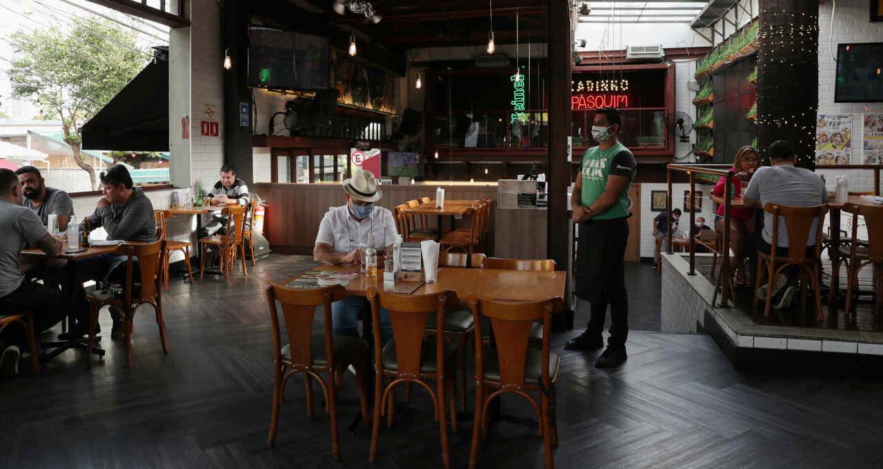 Bar restaurante comércio coronavírus
