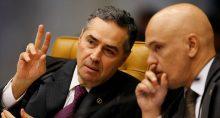 Barroso e Alexandre de Moraes
