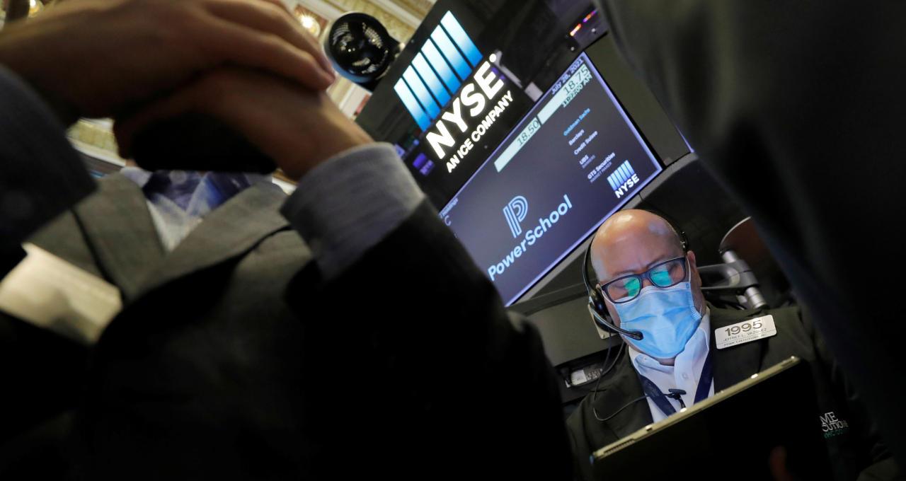 EUA ações Wall Street