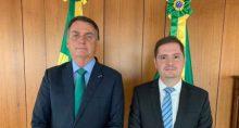 Jair Bolsonaro e Bruno Bianco