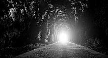 Esperança, luz no fim do túnel, saída, solução