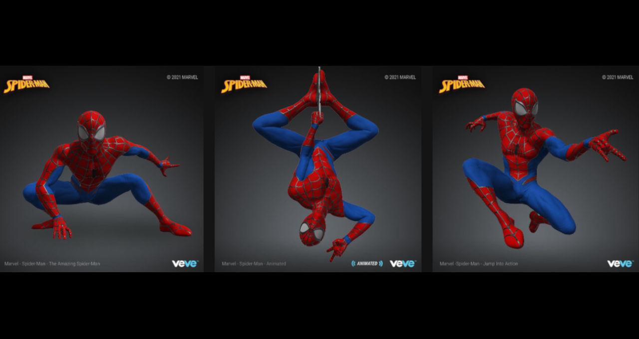 Marvel Homem-Aranha NFT 2