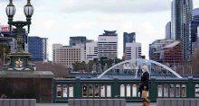 Melbourne, na Austrália