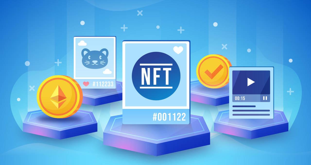 NFT token não fungível