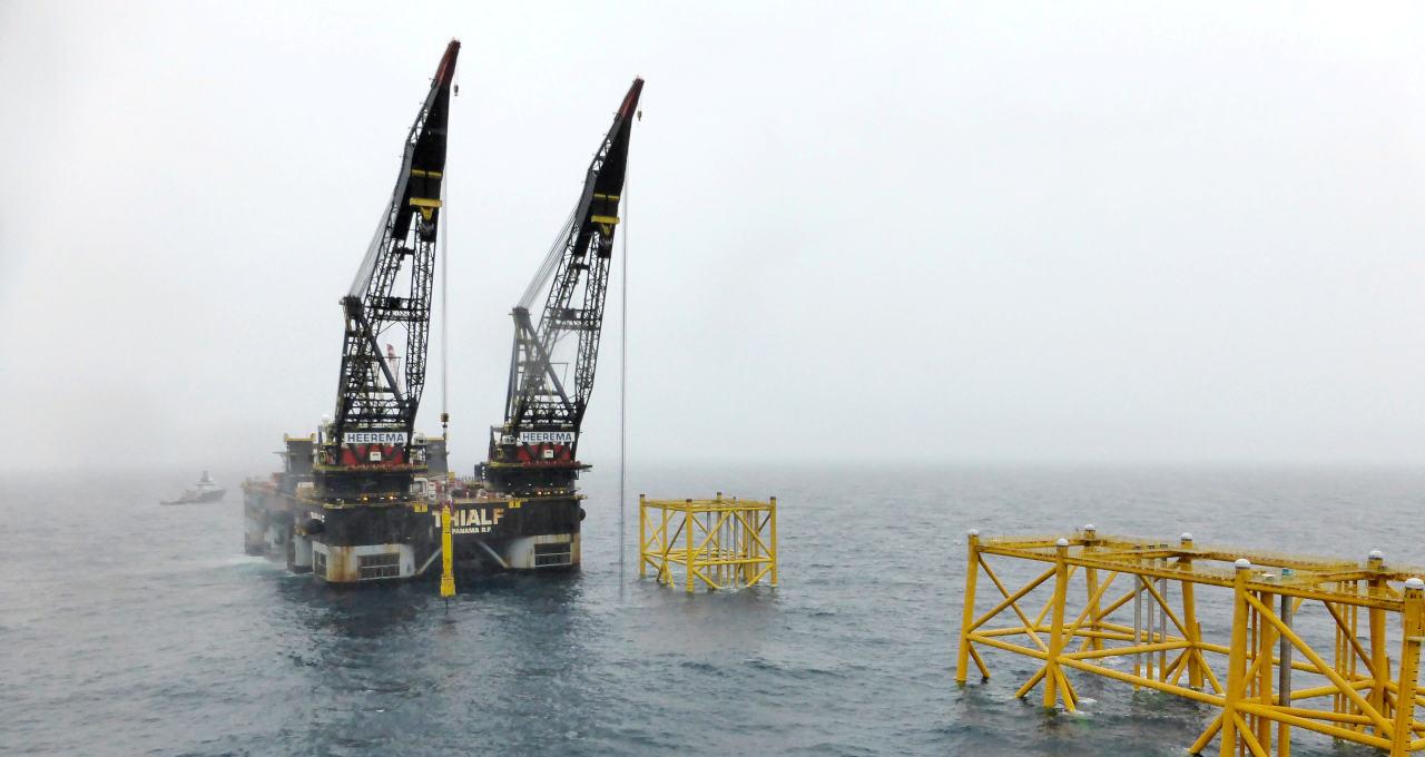 Operação da Equinor no Mar
