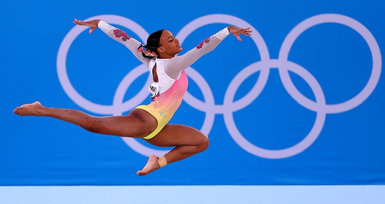 Rebeca Andrade, Jogos Olímpicos de Tóquio 2020