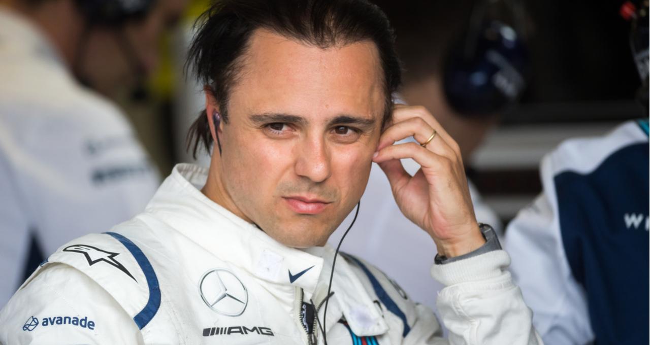 Rosto de Felipe Massa