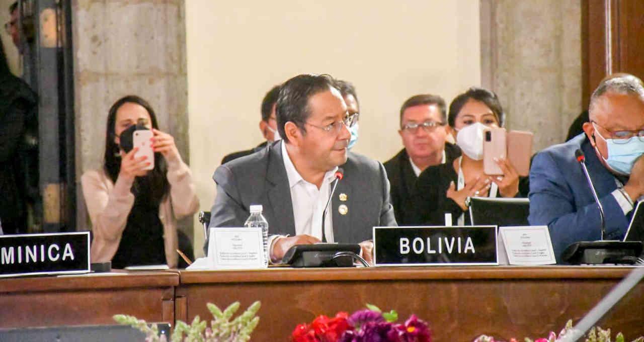 Luis Arce, presidente da Bolívia