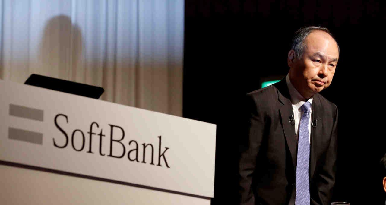 CEO do SoftBank, Masayoshi Son, em entrevista em Tóquio 5/11/2018