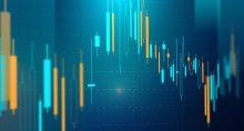Mercado Queda Oscilação gráfico